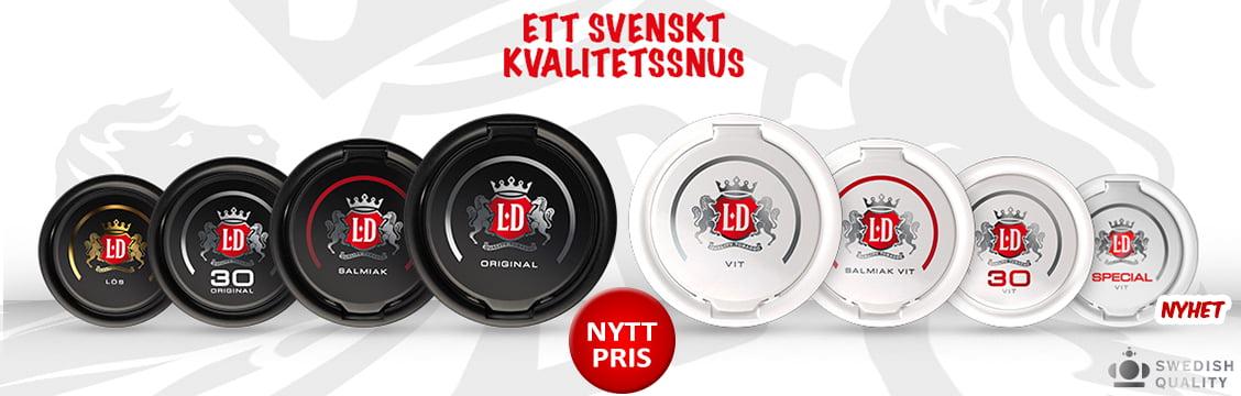 LD Snus Portion Kampanj - Billigt Snus Online